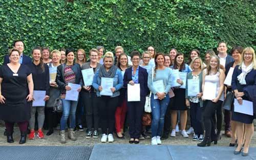 26 neue PraxisanleiterInnen sichern die Ausbildung in den Pflegeberufen
